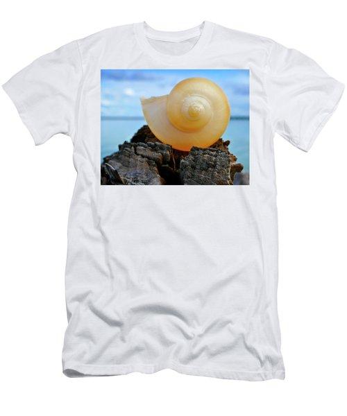 Men's T-Shirt (Slim Fit) featuring the photograph Fibonacci by Skip Hunt
