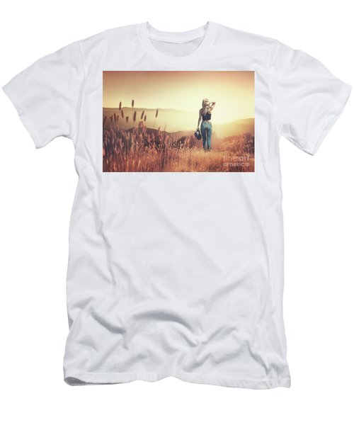 Fields Of Gold Men's T-Shirt (Athletic Fit)