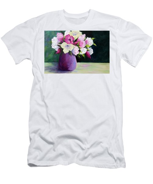 Floral Delight Men's T-Shirt (Athletic Fit)