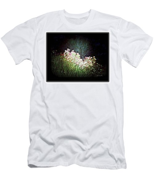Flowers At Night Men's T-Shirt (Athletic Fit)