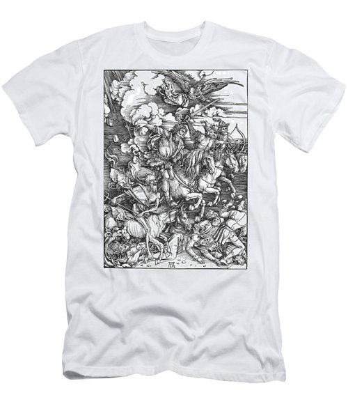 Four Horsemen Of The Apocalypse Men's T-Shirt (Athletic Fit)