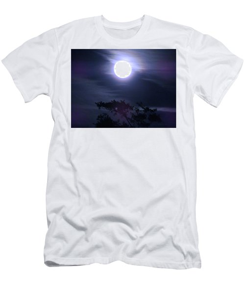 Full Moon Falling Men's T-Shirt (Athletic Fit)