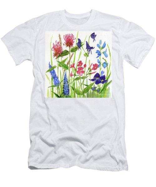Garden Flowers Men's T-Shirt (Athletic Fit)