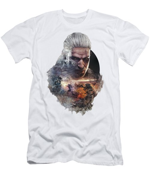 Geralt Of Rivia - The Witcher Men's T-Shirt (Athletic Fit)
