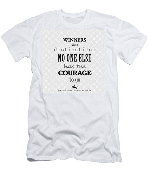 Gilda-gram Decor II Men's T-Shirt (Athletic Fit)