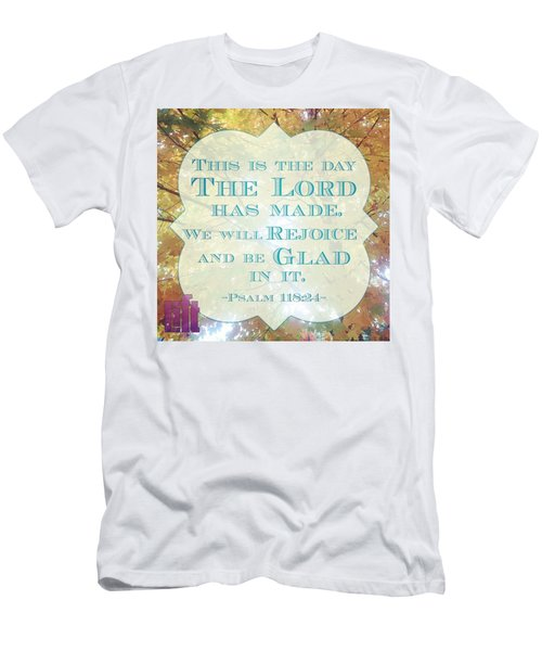 Give Thanks To The Lord, For He Is Men's T-Shirt (Athletic Fit)