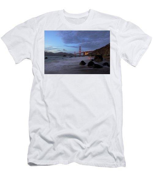 Men's T-Shirt (Slim Fit) featuring the photograph Golden Gate Bridge by Evgeny Vasenev