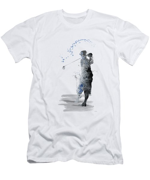 Golfer Men's T-Shirt (Athletic Fit)