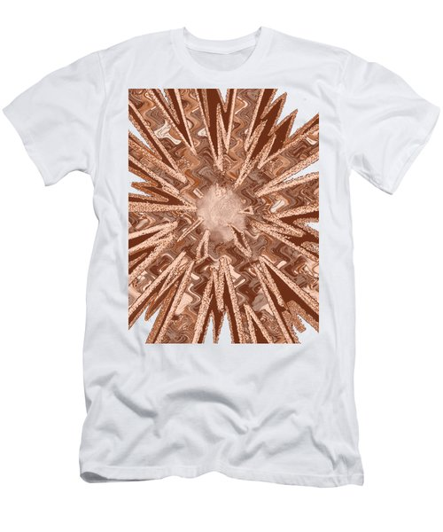 Goodluck Star Sparkles Obtained In Meditative Process Navinjoshi Artist Fineartamerica Pixels Men's T-Shirt (Slim Fit) by Navin Joshi
