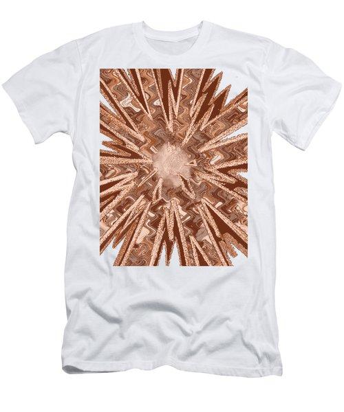 Goodluck Star Sparkles Obtained In Meditative Process Navinjoshi Artist Fineartamerica Pixels Men's T-Shirt (Athletic Fit)