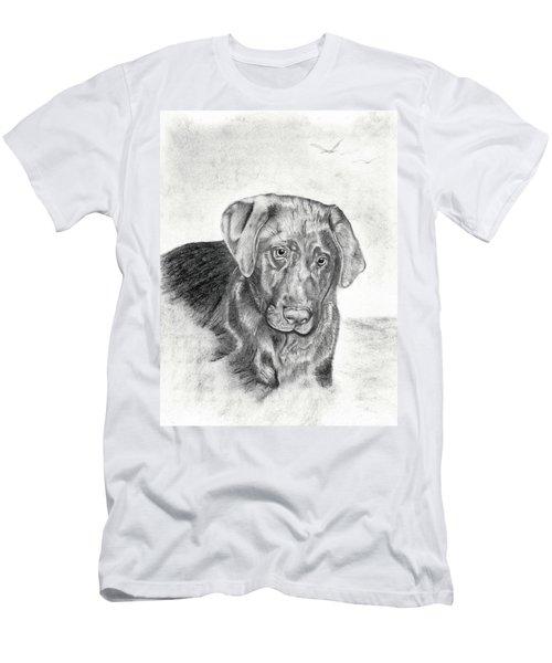 Men's T-Shirt (Slim Fit) featuring the drawing Gozar by Mayhem Mediums
