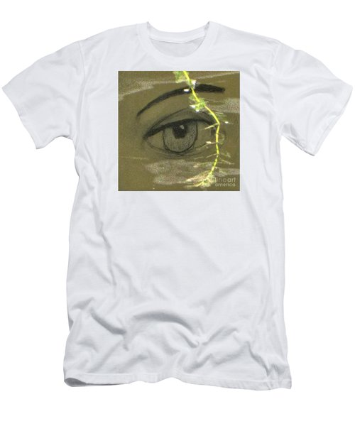 Green Eyes Men's T-Shirt (Slim Fit) by Yury Bashkin
