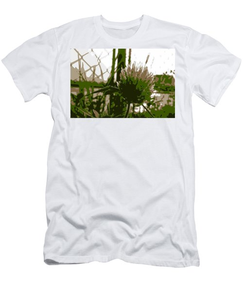 Green Men's T-Shirt (Athletic Fit)