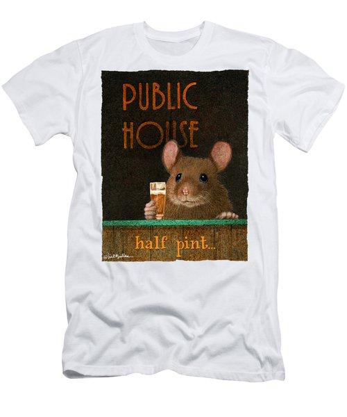 Half Pint... Men's T-Shirt (Athletic Fit)