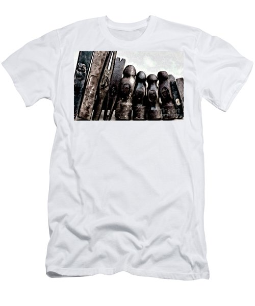 Men's T-Shirt (Slim Fit) featuring the photograph Hammer Heads  by Wilma Birdwell