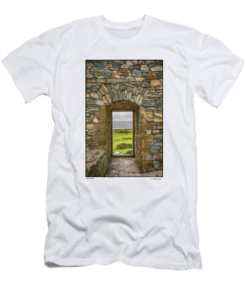 Harlech View Men's T-Shirt (Slim Fit) by R Thomas Berner