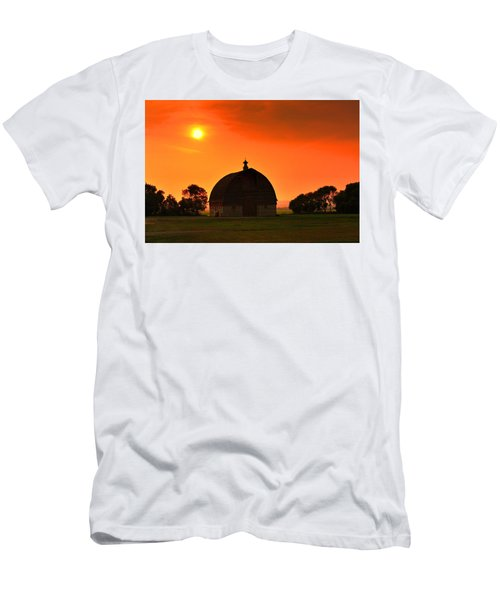 Harvest Sunset  Men's T-Shirt (Athletic Fit)