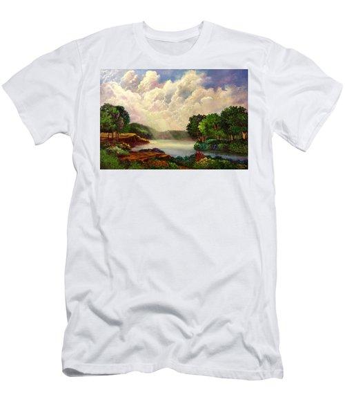 His Divine Creation Men's T-Shirt (Slim Fit) by Randy Burns