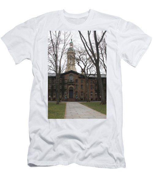 Men's T-Shirt (Slim Fit) featuring the photograph Historic Princeton by Vadim Levin