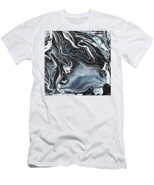 I Know It Looks Like Marble Men's T-Shirt (Athletic Fit)