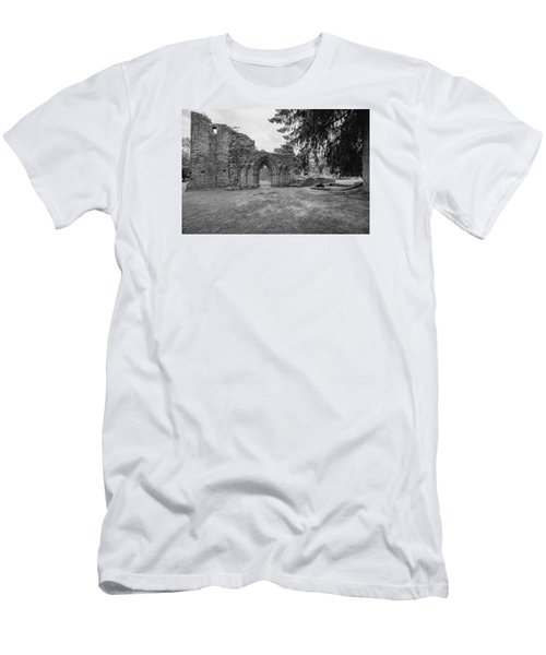 Inchmahome Priory Men's T-Shirt (Slim Fit) by Jeremy Lavender Photography