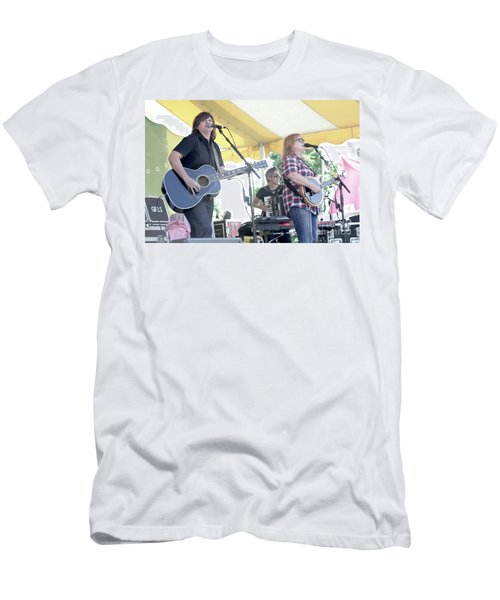 Indigo Girls Amy Ray And Emily Saliers Men's T-Shirt (Athletic Fit)