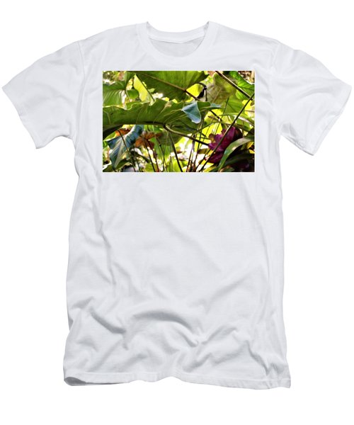 Men's T-Shirt (Slim Fit) featuring the photograph Jungle Jive by Mindy Newman