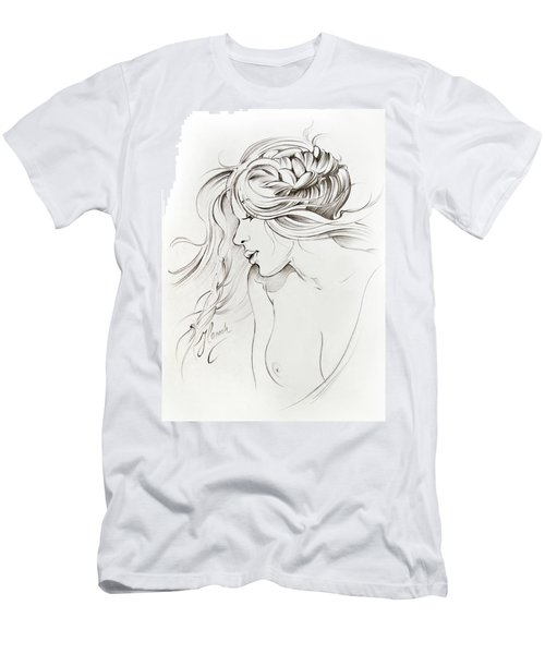 Kiss Of Wind Men's T-Shirt (Slim Fit) by Anna Ewa Miarczynska