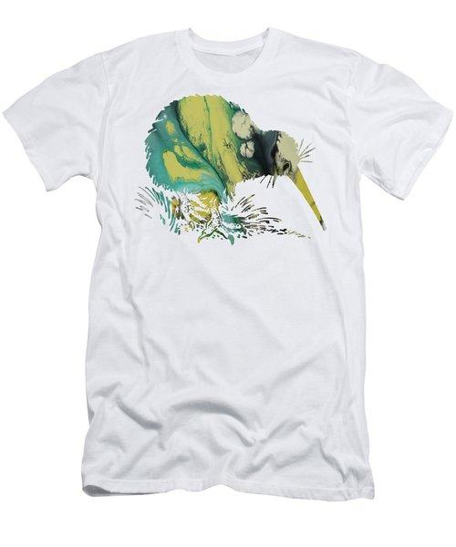 Kiwi Bird Men's T-Shirt (Slim Fit) by Mordax Furittus