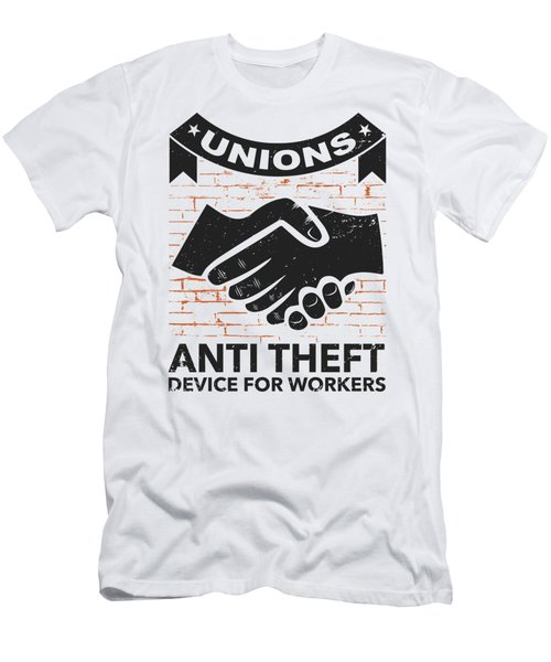 Labor Union Of America Pro Union Worker Protest Light Men's T-Shirt (Athletic Fit)