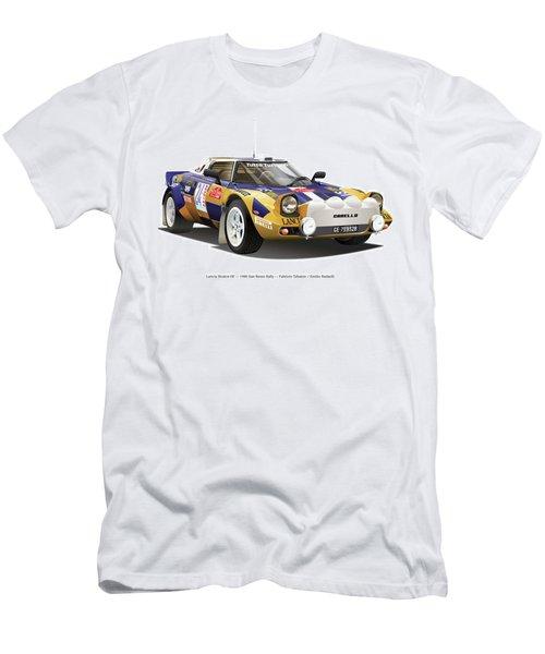 Lancia Stratos Hf Men's T-Shirt (Slim Fit) by Alain Jamar