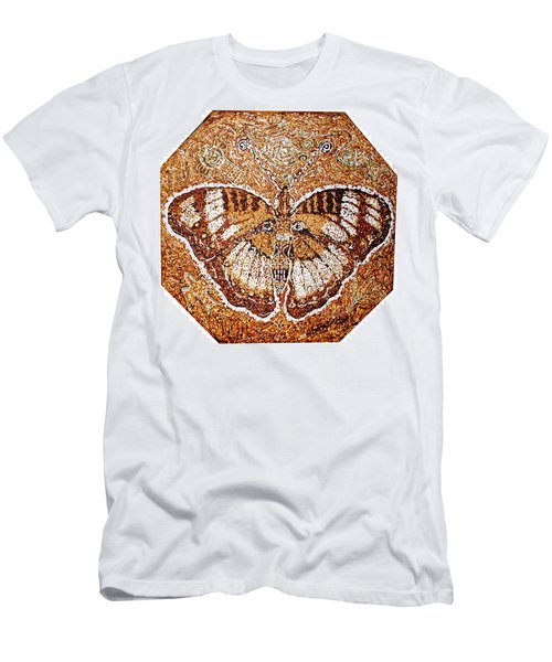 Land Of Gold Men's T-Shirt (Slim Fit) by Bankole Abe