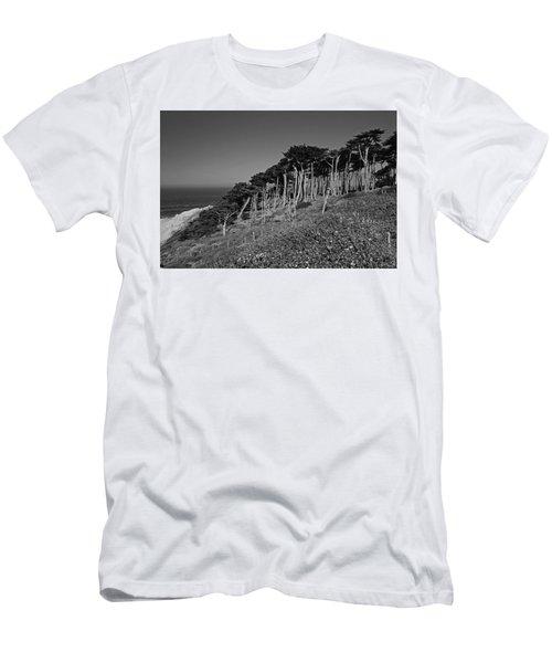 Lands End In San Francisco Men's T-Shirt (Athletic Fit)