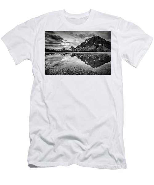Men's T-Shirt (Slim Fit) featuring the photograph Light On The Peak by Jon Glaser