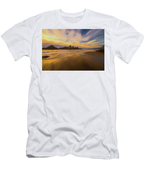 Lines In The Sand Men's T-Shirt (Athletic Fit)