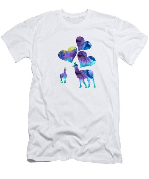 Llamas Men's T-Shirt (Athletic Fit)