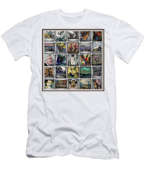Panorama Digital Graphics 1 Men's T-Shirt (Slim Fit) by Pemaro