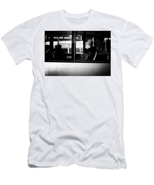 Men's T-Shirt (Athletic Fit) featuring the photograph Lost In Thought by John Williams
