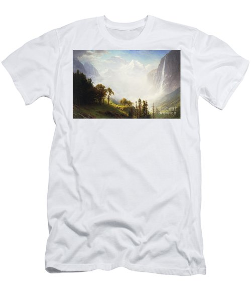 Majesty Of The Mountains Men's T-Shirt (Athletic Fit)