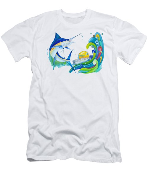 Marlin Key West Men's T-Shirt (Athletic Fit)