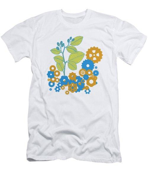 Mechanical Nature Men's T-Shirt (Athletic Fit)