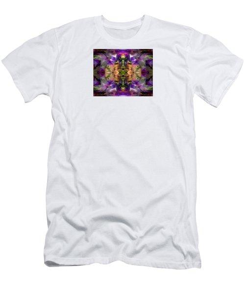 Men's T-Shirt (Slim Fit) featuring the digital art Mind Portal by Lynda Lehmann