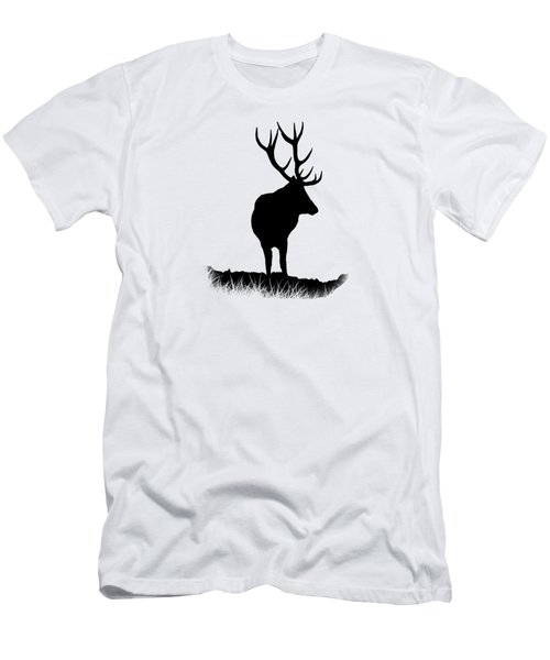 Monarch Of The Park  Men's T-Shirt (Slim Fit) by Linsey Williams