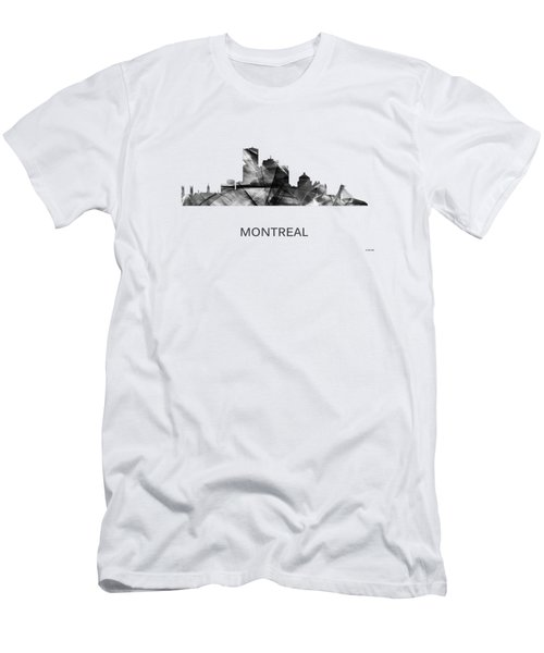 Montreal Que.skyline Men's T-Shirt (Athletic Fit)