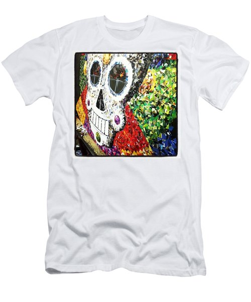 #mosaic #decoupage #collage #hood Men's T-Shirt (Athletic Fit)