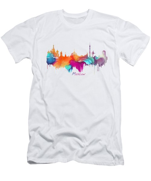 Moscow  Men's T-Shirt (Slim Fit) by Justyna JBJart