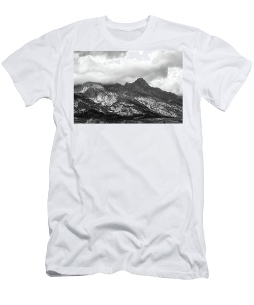 Men's T-Shirt (Athletic Fit) featuring the photograph Mountain Shadows by Colleen Coccia