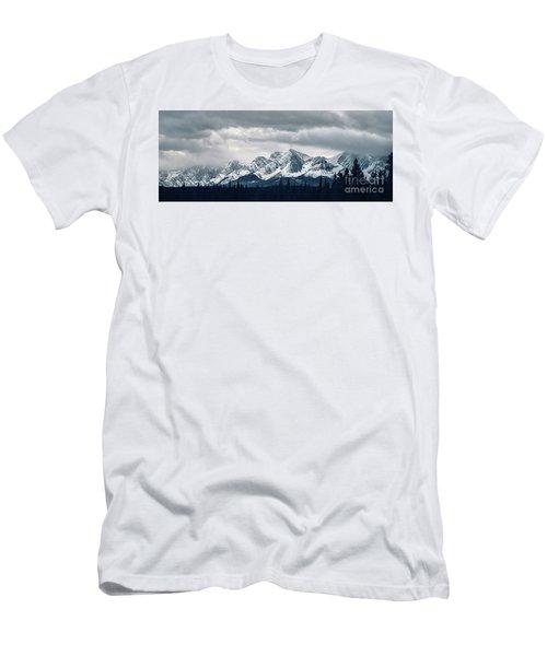 Mountainscape Men's T-Shirt (Athletic Fit)