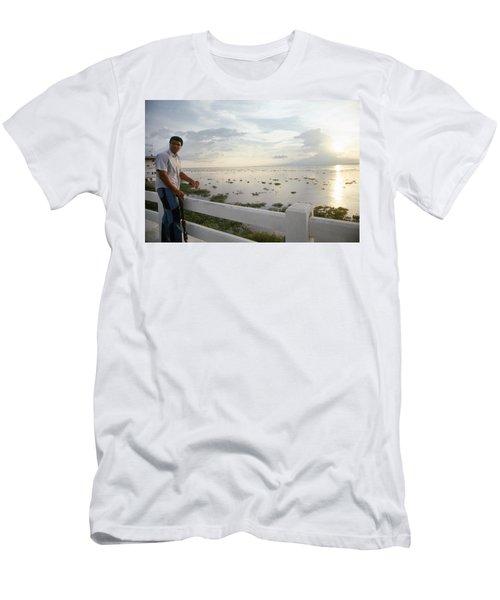 Muhammad Ali (1942- ) Men's T-Shirt (Athletic Fit)