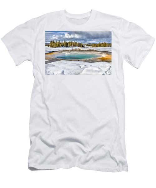 Nature's Painting Men's T-Shirt (Slim Fit) by Yeates Photography